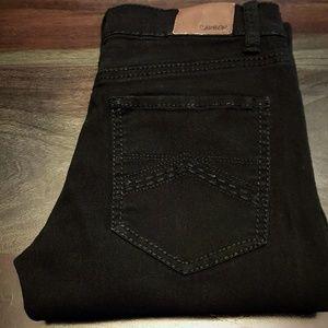 Carbon Black Stretch Skinny Jeans